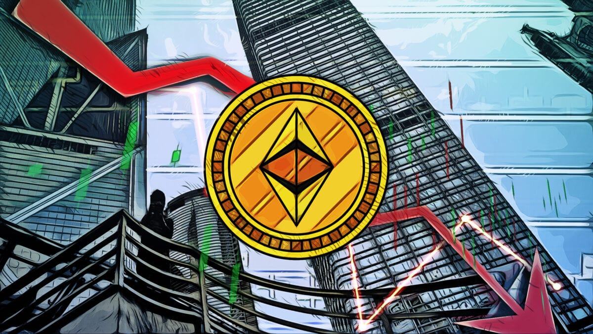 Ethereum Price Drops During Crypto Market Crash