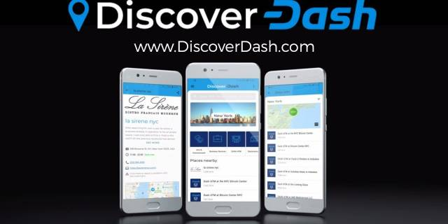 New Discover Dash Merchant Listing Mobile App - Free Download