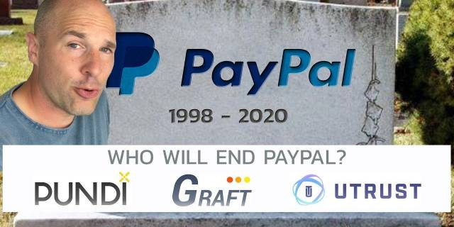 Cryptocurrency That Could Kill Paypal - Pundi X - Graft - UTrust
