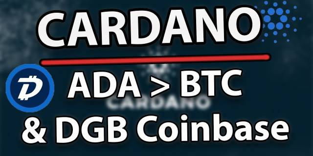 Cardano (ADA) Will Beat Bitcoin & DigiByte Coinbase Debate!