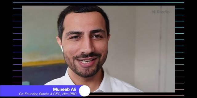 Muneeb Ali: Bitcoin & The Next Internet   Stacks 2.0 Launch
